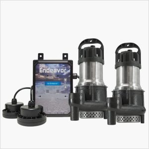 Smart 1/3HP Sump Pump Controller Package