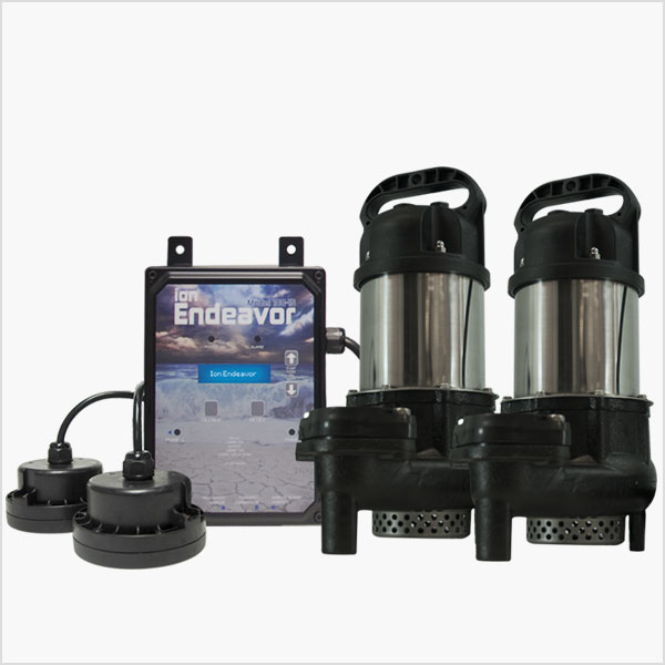 1/2 HP Sump Pump Smart Controller Package