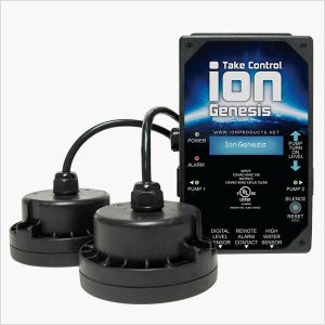 Ion Genesis Smart Sump Pump Controller and Sensors