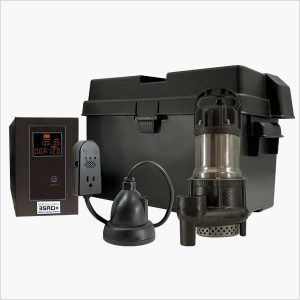 Ion Technologies 35ACi+ Battery Backup Sump Pump System