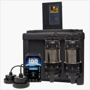 Ion Technologies 55ACi Deluxe Battery Backup Sump Pump System