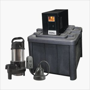 Ion Technologies 55ACi+ Battery Backup Sump Pump System