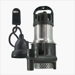 Ion Technologies BA33i+ Sump Pump with High Water Alarm