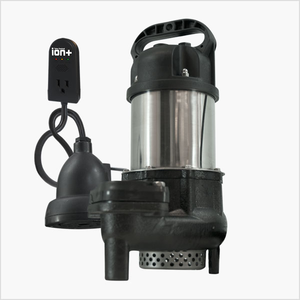 Ion Technologies BA50i+ Sump Pump with Built-In High Water Alarm