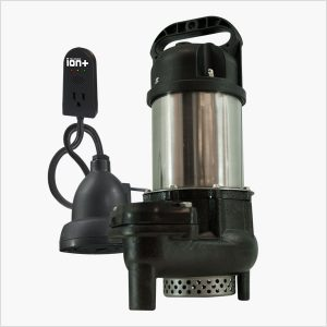 Ion Technologies BA75i+ Sump Pump with Built-In High Water Alarm