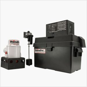 StormPro 2100-DC Battery Backup Sump Pump System