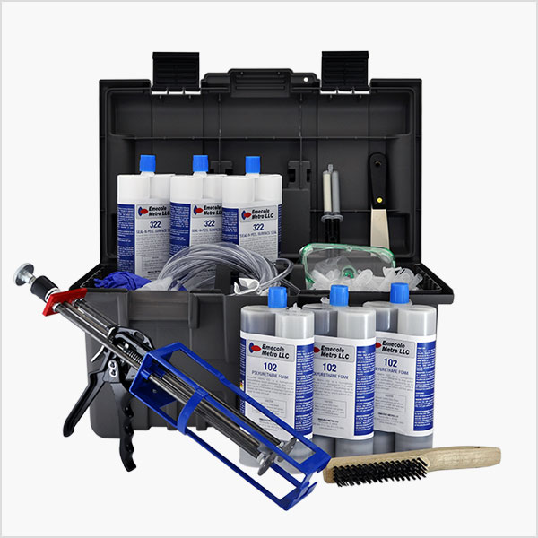 30 ft. Concrete Crack Repair Kit