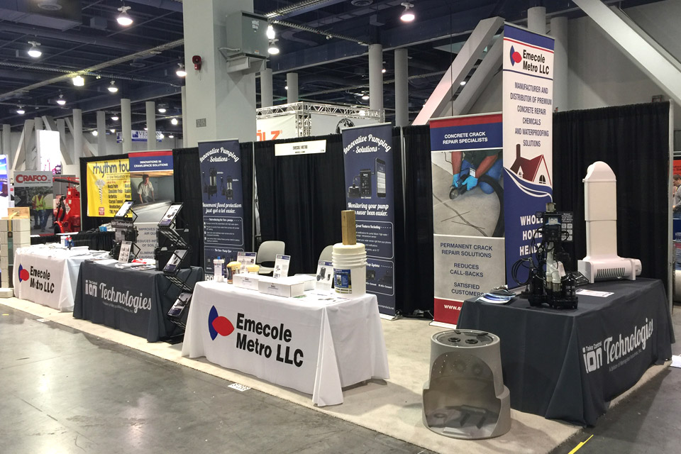 Sump Pump Products on Display