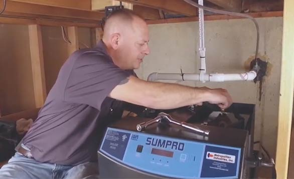 Sumpro Battery Backup System Inverter and Battery Maintenance