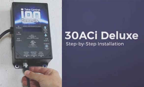 30ACi Deluxe Battery Backup System