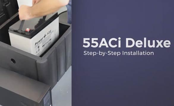 55ACi Deluxe Battery Backup System