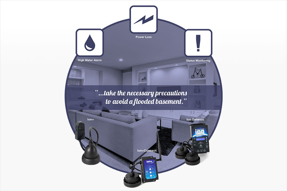 Sump Pump Alarms Allow for Proactive Basement Flood Prevention