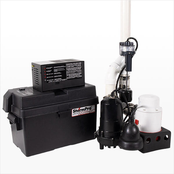 Ion Technologies JSPII Preassembled Sump & Battery Backup System